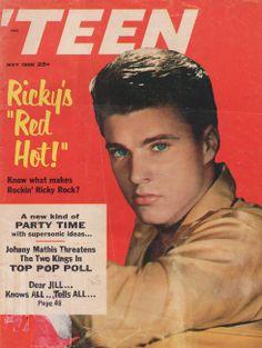 May 1958.  Ricky Nelson.