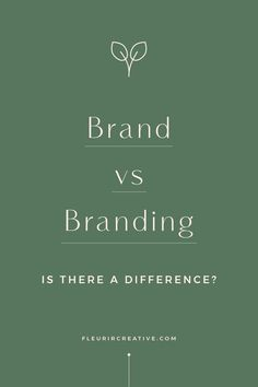 Is there a difference between brand and branding? Well, the simple answer is YES! Read this post to find out more #branding #brand #brandstrategy #brandidentity