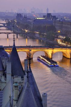 Bank of Seine,  Paris