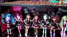 2012 Monster High Doll Collection by Drusila and Nessy- wookiewarrior23