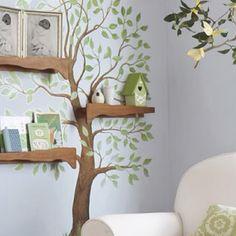 Tree shelves!