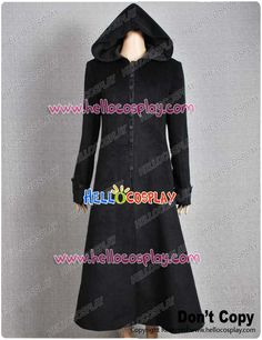 Twilight New Moon Costume Volturi Jane Black Coat Wool - $125.00 : Hello Cosplay : Cosplay Costumes :Cosplay Wigs