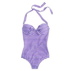 Skinny-stripe bow underwire tank - Oh please oh please oh please.... I want this so BAD! :)