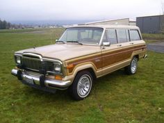 Well Preserved FSJ: 1984 Jeep Wagoneer Limited  http://bringatrailer.com/2017/03/12/well-preserved-fsj-1984-jeep-wagoneer-limited/