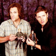 I want these. If only to say that I have my very own set of Winchester brothers.