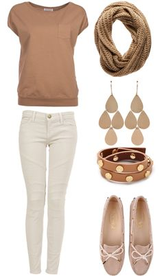 """Beige"" by remybid on Polyvore"
