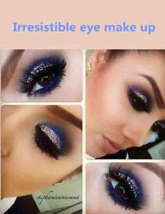Irresistible eye make up