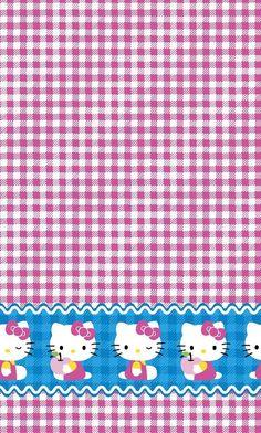 Sanrio Hello Kitty Gingham Mock Smock