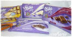 Schokoladentäschchen / Chocolate pouches / Upcycling