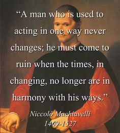 """machiavelli+quotes 