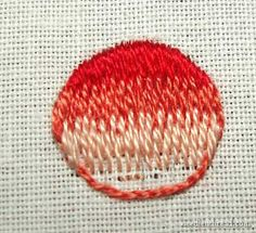 Long and Short Stitch Shading Lessons on needlethread.com