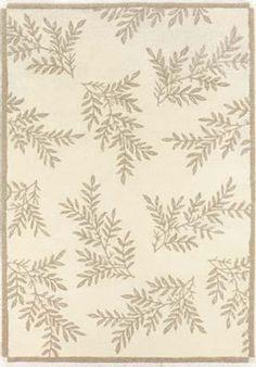Couristan - Couristan Super-Indo Naturals Pine Hills Ivory 2150-6000 Area Rug #136732
