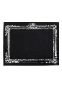 Retro Blackboard in Rectangle