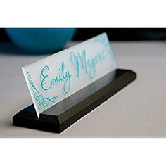 Coworker gift with a name plate. You can customize for the recipient. Desk Name Plate Office Supply Personalized Secretary Sign Gift Custom Professional Wood Office Sign 10 x