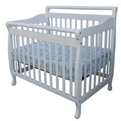 Why buy multiple beds for your baby as they grow up? The Dream on Me 3 in 1 Convertible Crib can be used as a crib then converts to a day bed and then to a twin bed.  Dream On Me 3 In 1 Portable Convertible Crib White |