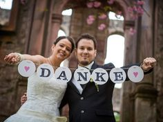 Danke Girlande Hochzeitsgirlande wedding garland von renna deluxeFoto © Philip Dehm // www.phil.fotograf.de