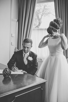 Love this dress for a simple reg office wedding. LouiseChris-51.jpg LouiseChris-27.jpg 50s wedding dress Aberdeen House Ramsgate Registry Office Broadstairs Kent Wedding © Laurenbythesea Photography http://laurenbytheseaphotography.pixieset.com/ http://laurenbythesea.com