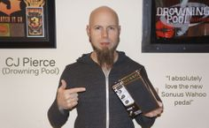 C.J. Pierce from the Drowning Pool http://www.drowningpool.com