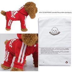 Scheppend Adidog Pet Clothes for Dog Cat Puppy Hoodies Coat Winter Sweatshirt Warm Sweater - Dog Sweaters Vest Coat, Shirt Jacket, Pet Clothes, Dog Clothing, Look Good Feel Good, Cat Sweaters, Buy Pets, Winter Coat, Best Dogs
