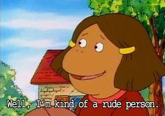 Arthur was such an honest show. Arthur Tv Show, Arthur Read, Best Memes, Dankest Memes, Funny Memes, Hilarious, What Are You Like, God Help Me, Entertainment