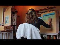 """Vidéo : Rencontre avec la pastelliste Sylvie Astier Claës, dit """"Soleillane"""" - l'Atelier Géant"""