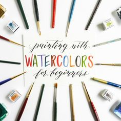 Every watercolor tutorial that you take on will help you to improve your skills! Today's post details 10 watercolor projects that you may be interested in. Watercolor Tips, Watercolor Projects, Watercolour Tutorials, Watercolor Pencils, Watercolor Techniques, Watercolour Painting, Painting & Drawing, Watercolors, Watercolor Flowers
