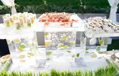 Frozen Raw Bar by Jennifer Naylor catering