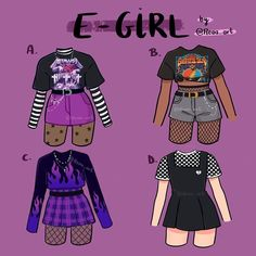 Teen Fashion Outfits, Edgy Outfits, Retro Outfits, Cute Casual Outfits, Grunge Outfits, Girl Outfits, Pastel Goth Outfits, Fashion Ideas, Kleidung Design