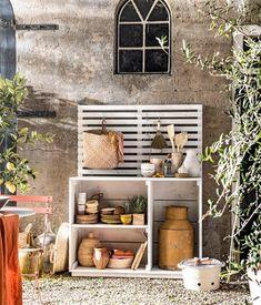 Bookshelf Headboard, Bookshelves, Bookcase, Kitchen Units, Diy Kitchen, Outdoor Living, Building, Garden, Furniture