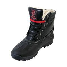 Gorilla - Men's Tuff Boot Fur Boots - Black