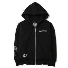 ec78adb6a8f 2017 Chrome Hearts Hoodies with Printed Big Crosses New Style