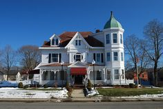 Ginley Funeral Home.  Franklin, Massachusetts