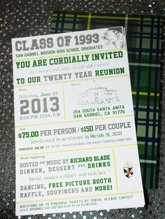 MHS Class of 93 - Reunion invite