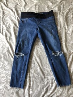 0756b93bc9 New Look Skinny Under Bump Maternity Jeans. Size 12.  fashion  clothing