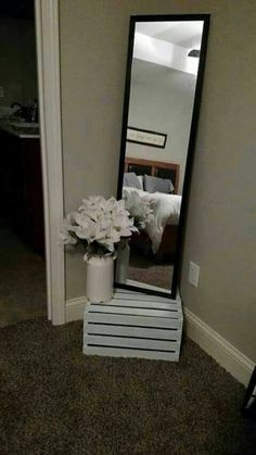 I love the idea of using a crate to get more height. Great idea!                                                                                                                                                                                 More