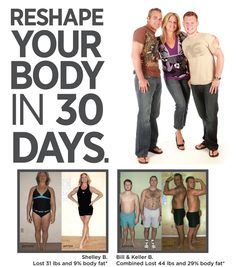 Reshape your body in 30 days!