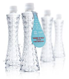 Nunobiki no mizu (布引の水) Natural Mineral Water from Kobe, Japan - Bottle designed as Kobe Port Tower