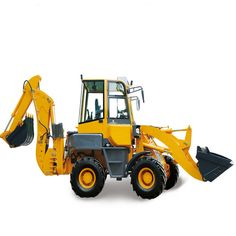From the building areas, it is possible to see plenty of equipments which are used for distinct functions.  If it  comes to transferring distinct substances around, a system used is a front loader. Backhoe Loader, Building Companies, Tractors, Things To Come, Chinese, Construction, Train, App, Link