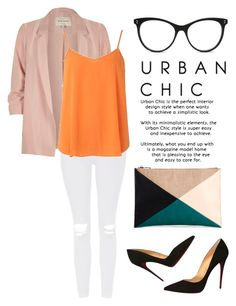 """""""Urban Chic"""" by adln99 on Polyvore featuring STELLA McCARTNEY, River Island, Topshop, Dorothy Perkins, Sole Society and Christian Louboutin"""