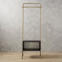 Ideal in the entry, guest room, or anywhere you need a little extra storage, handmade metal and mango wood valet transforms any space into an impromptu closet. Room Interior Design, Furniture Design, Modern Furniture, Interior Decorating, Modern Serving Trays, Clothes Stand, Design Minimalista, Gold Outfit, Home Decor Mirrors