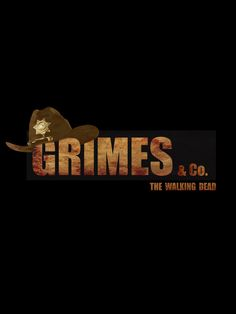 Grimes & Co. - The Walking Dead Art Print