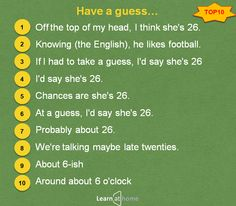 Как предположить по-английски #english #vocabulary