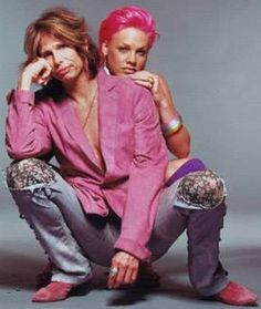 steven tyler and pink