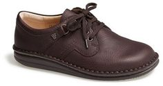 $304, Dark Brown Leather Derby Shoes: Finn Comfort Vaasa Leather Oxford. Sold by Nordstrom.