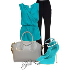 Turquoise Outfit !