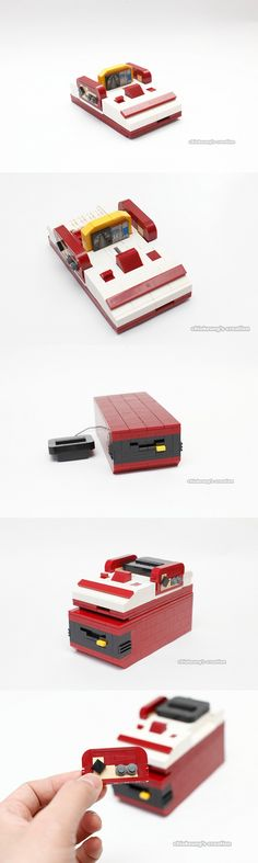 LEGO Japanese NES (aka Famicom) ....double cool!