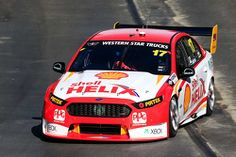 Marcos Ambrose, Team Penske Ford in the new livery