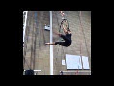 There is soooooooo much practice behind this...Jenny Tan - Aerial Hoop