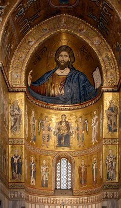 Apse_interior_mosaics_-_Cathedral_of_Monreale_-_Italy_2015.JPG (1744×3000)