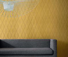 Panneau acoustique d coratif en 30 designs mur et plafond maison cin ma et d coration - Revetement mural acoustique ...
